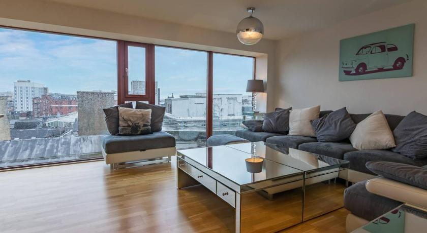 Best time to travel United Kingdom Stylish two bed penthouse in Glasgow city centre