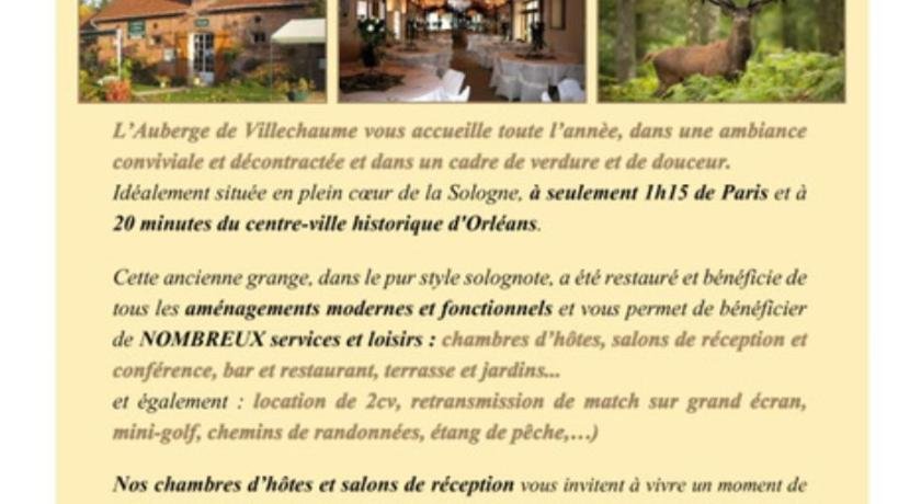 Best Price on Auberge de villechaume in Sennely + Reviews!
