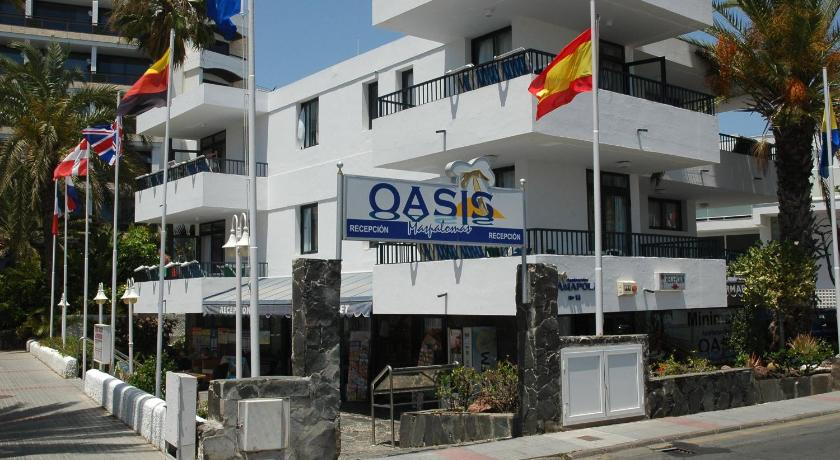 Best time to travel Gran Canaria Apartamentos Oasis Maspalomas