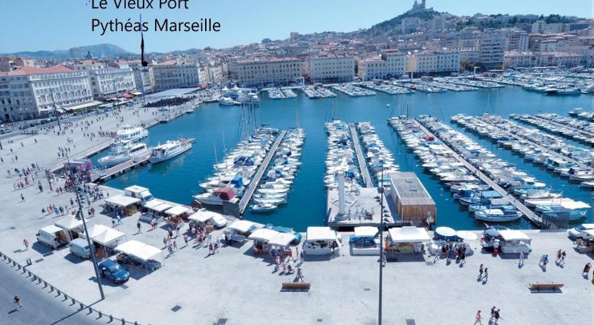 Photo du vieux port de marseille