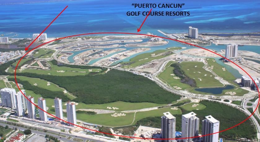 Penthouse with Ocean & Golf Course View in Cancun - Room Deals ... on