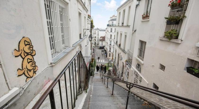 Apartament Cosy flat with amazing view on Paris for 2p