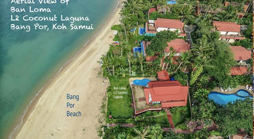 Beachfront Laguna Villa at Ban Por Samui