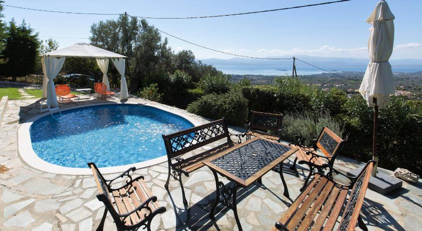 Best time to travel Euboea Villa Heaven's Knights 2 with private pool.
