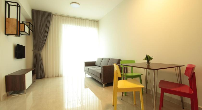 Deluxe apartment with free pool, fitness and yoga
