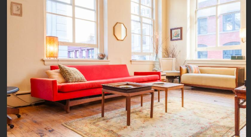 Best time to travel New York City Sundrenched Tribeca Loft