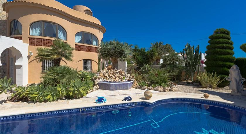 Best time to travel Spain Benissa Villa Jutta