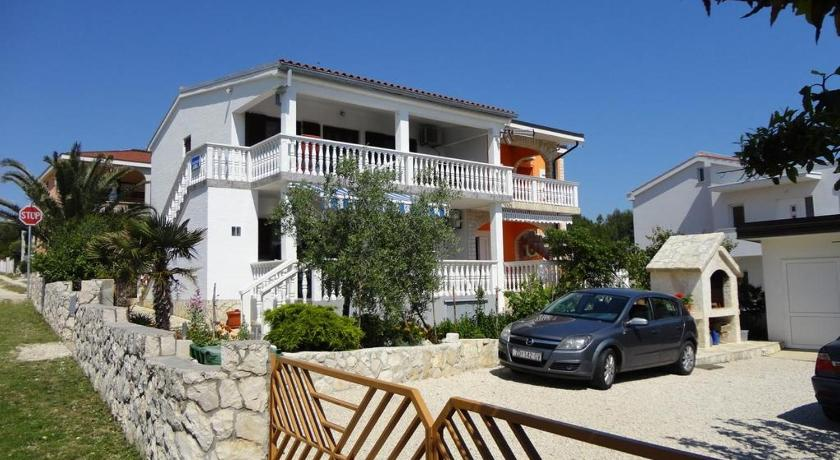Apartment in Vir with sea view, terrace, air conditioning, Wi-Fi (4590-1)