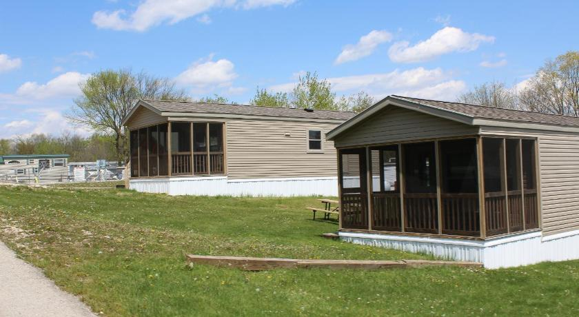 Plymouth Rock Camping Resort Two-Bedroom Park Model 8