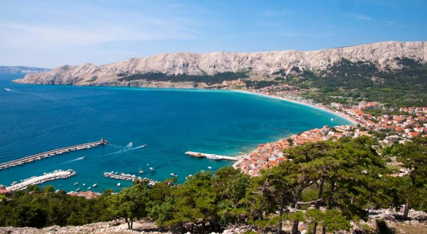 Appartamento con Vista Mare Apartment in Baska with Seaview, Terrace, Air condition, WIFI (4691-5)