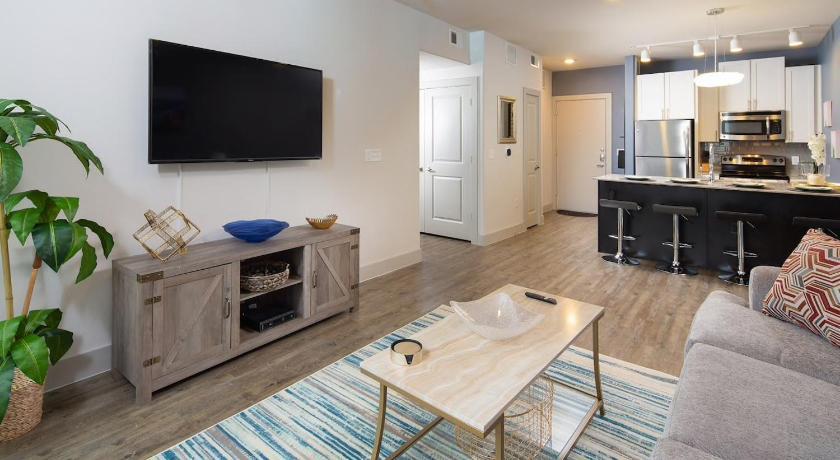 Luxurious Cozy Domain Condo Apartment Austin Tx