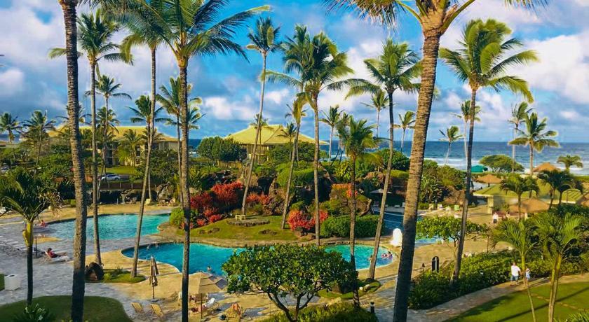 Oceanfront Resort Lihue Kauai Beach