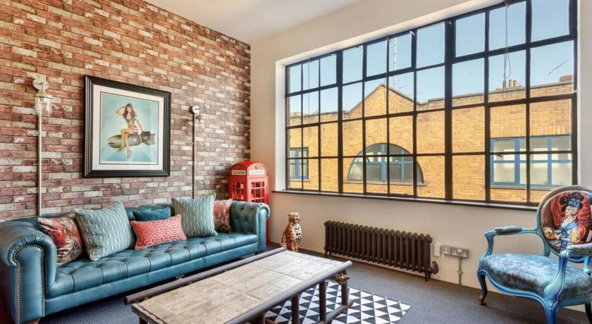Stunning 1-Bed, Converted Factory in Marylebone