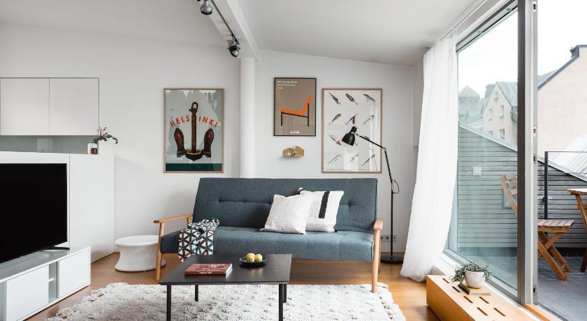 Central Nordic Design Penthouse With Terrace Entire House Helsinki Deals Photos Reviews