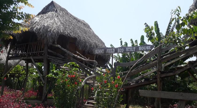 Sunny Field Eco Stilt House