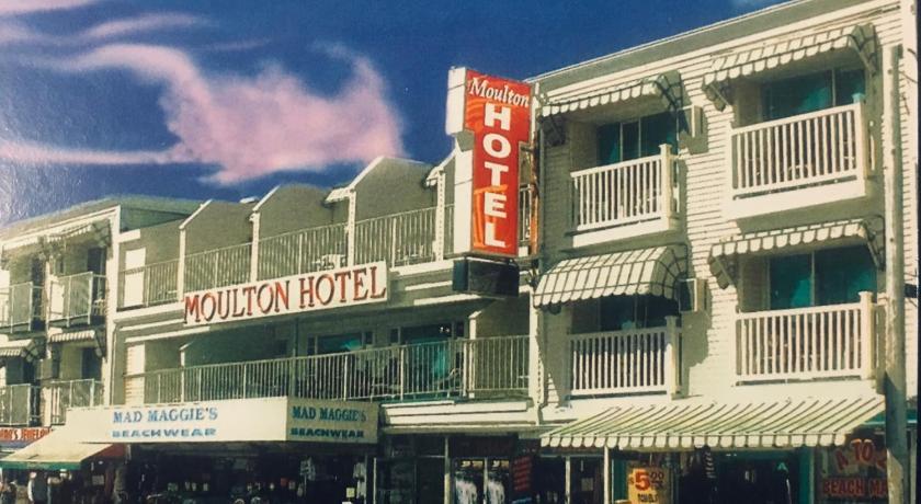Moulton Janvrin Hotel in Hampton Beach NH Postcard 1939 | eBay