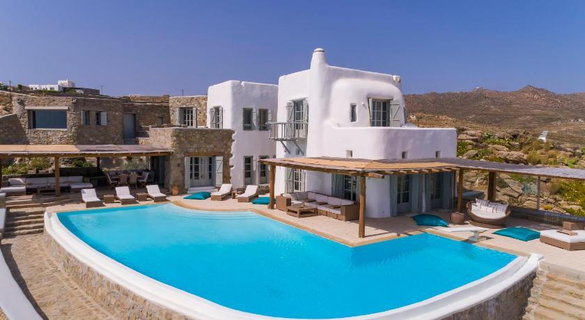 Black Diamond Luxurious Villa Mykonian Blue Mykonos