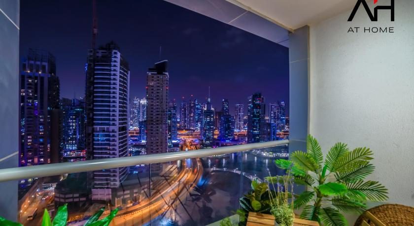 Apartment with Marina View AT HOME - Apartment Dubai Marina JBR Skyview Tower - Full Marina View