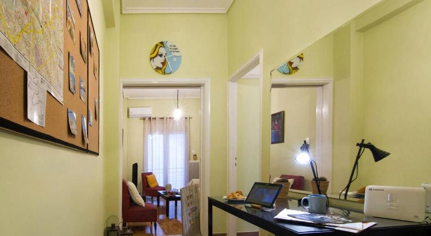 Cozy Apartment in Athens @ Gyzi Square