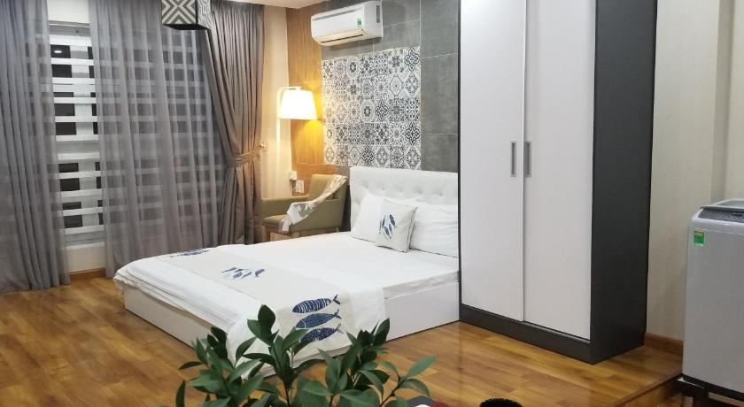 Two-Bedroom Apartment ELEGANT MODERN WHITE SERVICED APARTMENT IN DIST 3 HCM