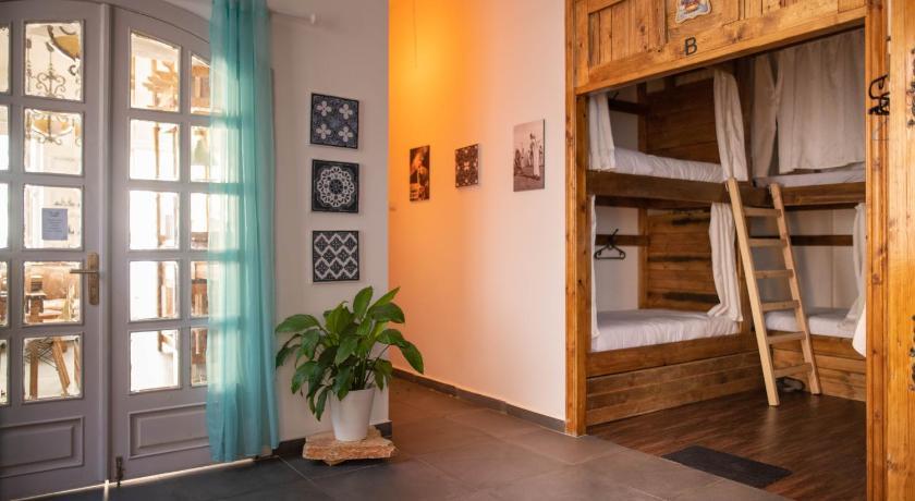 Cabin Hostel Amman Jordan dorm room