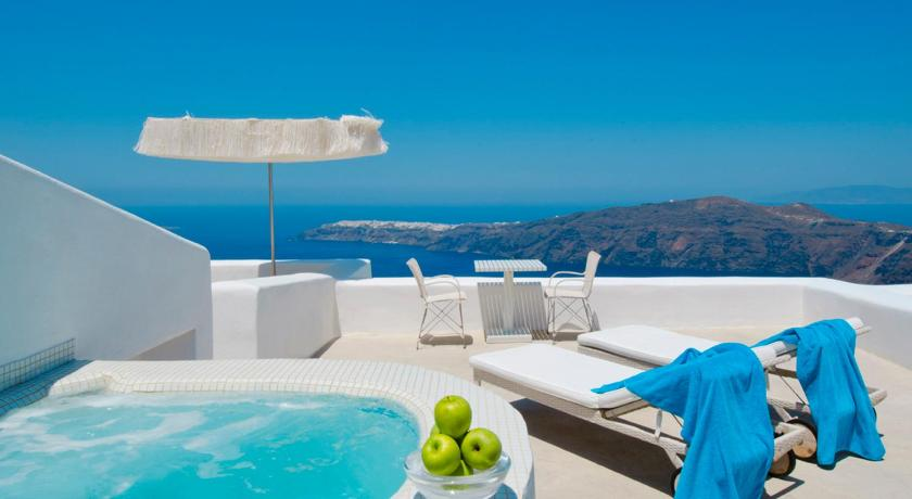 Best time to travel Greece White Santorini Suites & Spa
