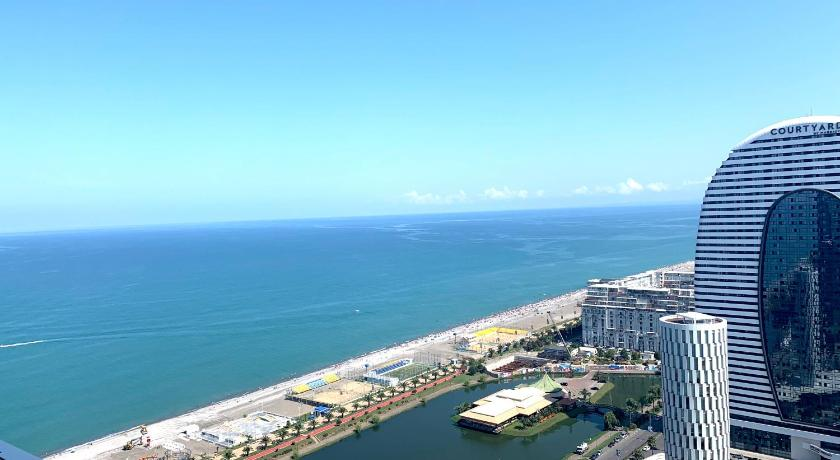 One-Bedroom Apartment Orbi City Twin Towers Batumi-Skyscraper Beach View