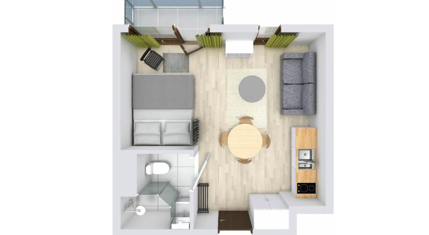 Apartament Estudi Rent like home - Burakowska 16