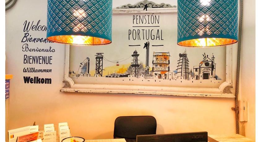 Pensión Portugal - Barcelona