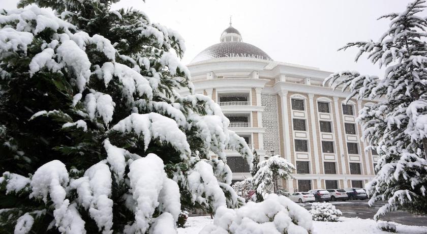 Best time to travel Azerbaijan Shamakhi Palace Sharadil
