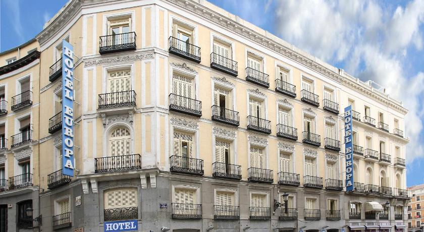 Best time to travel Madrid Hotel Europa