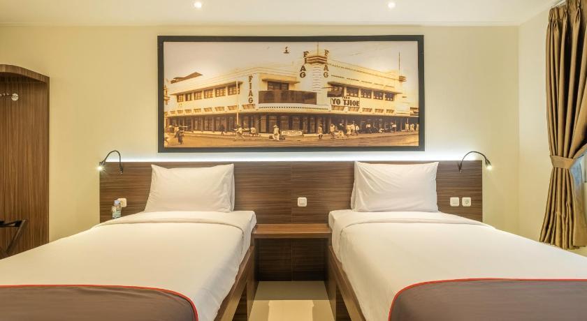 Fasilitas kamar Collection O 22 Hotel Pasar Baru Heritage