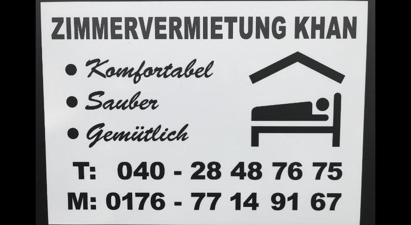 Zimmervermietung Khan Hamburg