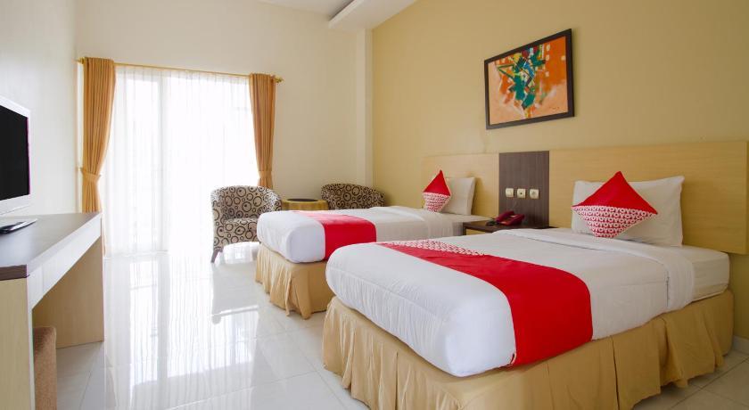 Kamar penginapan di Capital O 3222 Jeng Ratu Hotel Pangandaran