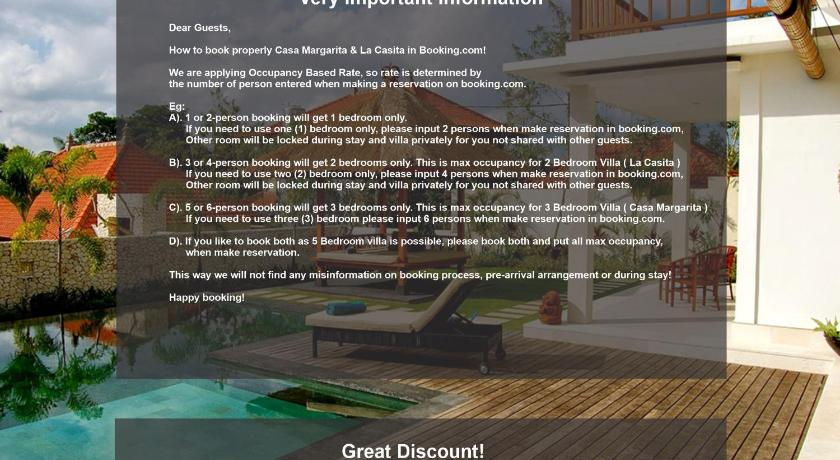 Casa Margarita Villa Resort Villa Bali Deals Photos Reviews