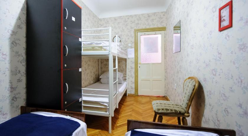 Bed in 4-Bed Dormitory Room Retro Moldova Hostel