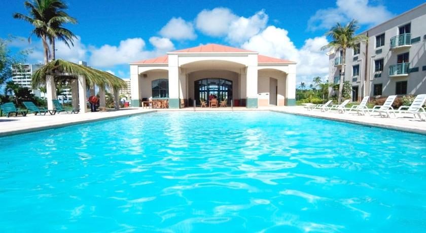 Best time to travel Guam Garden Villa Hotel