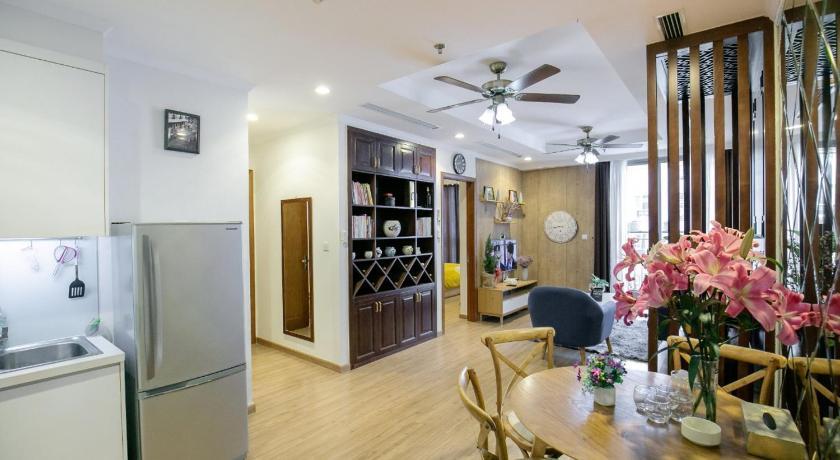 BOM HOMES- Vinhomes Times City- Service Apartment