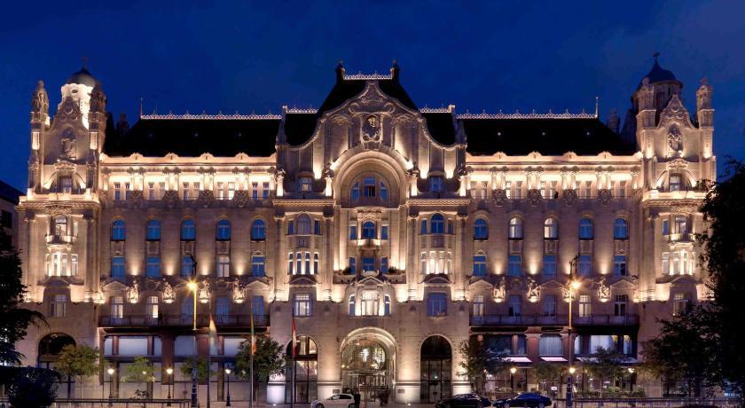 Best time to travel Budapest Four Seasons Hotel Gresham Palace Budapest