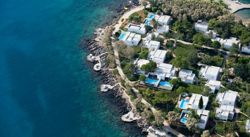 Best time to travel Greece Minos Beach Art Hotel