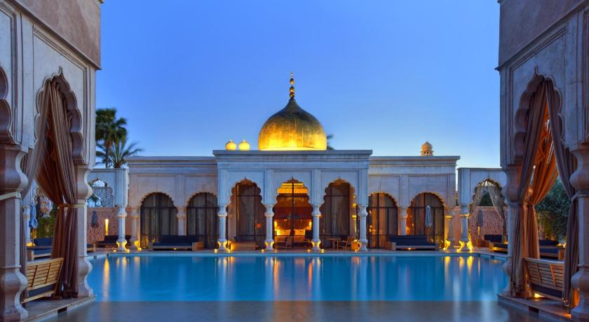 Best time to travel Marrakesh Palais Namaskar