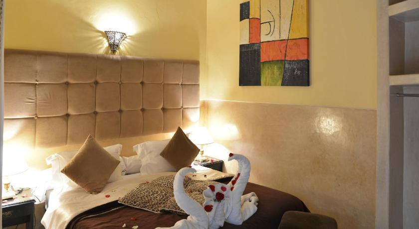 Standard Double or Twin Room Beige Riad Des Arts