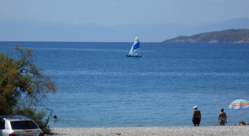 Best time to travel Greece Blue Beach