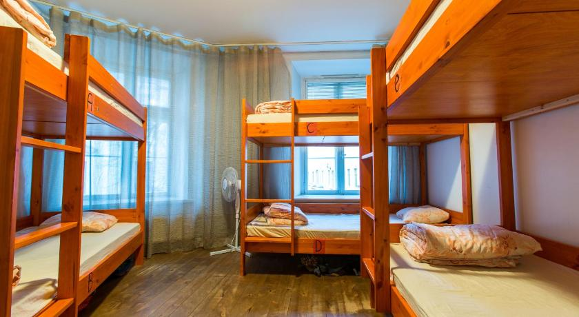 Single Bed in 6-Bed Dormitory Room Tallinn Backpackers