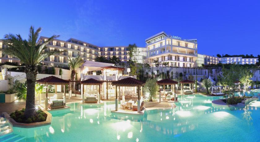 Best time to travel Croatia Amfora Hvar Grand Beach Resort