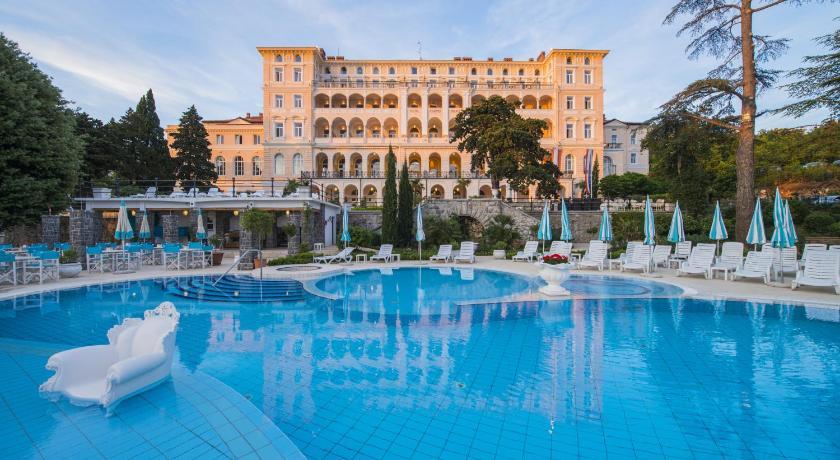 Best time to travel Croatia Hotel Kvarner Palace