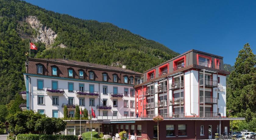 Best time to travel Interlaken Hotel Du Nord