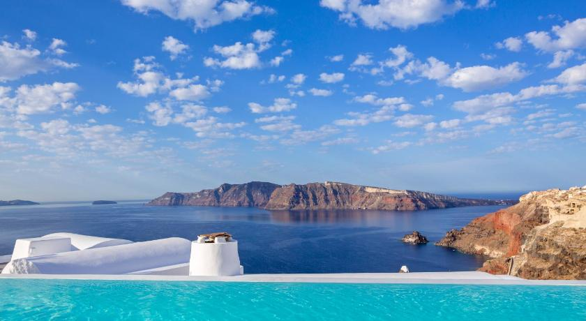 Best time to travel Fira Katikies Hotel - The Leading Hotels of the World