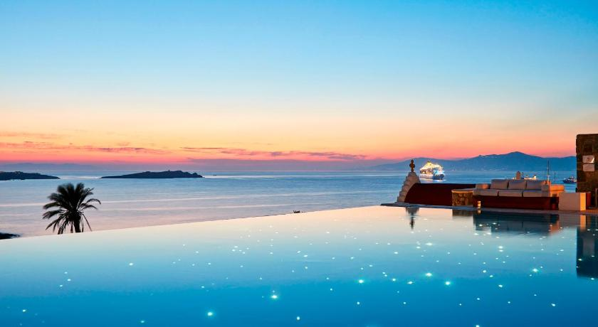 Best time to travel Mykonos Bill & Coo Suites and Lounge -The Leading Hotels of the World