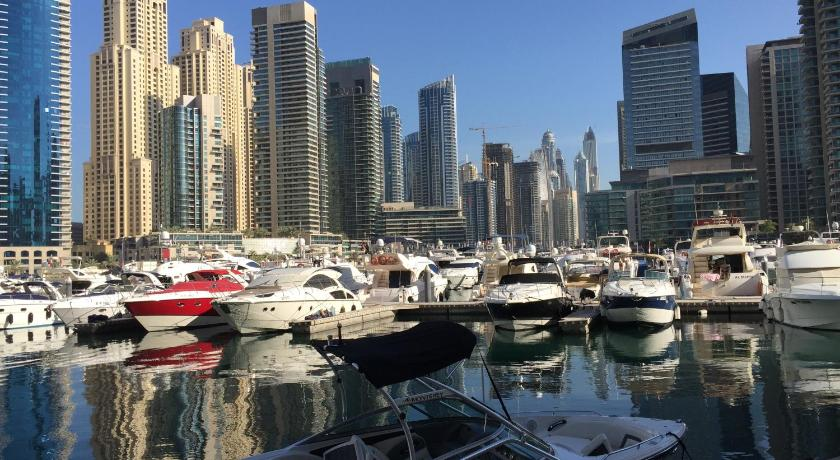 1베드룸 아파트 Waterfront One Bedroom Apartment Dubai Marina
